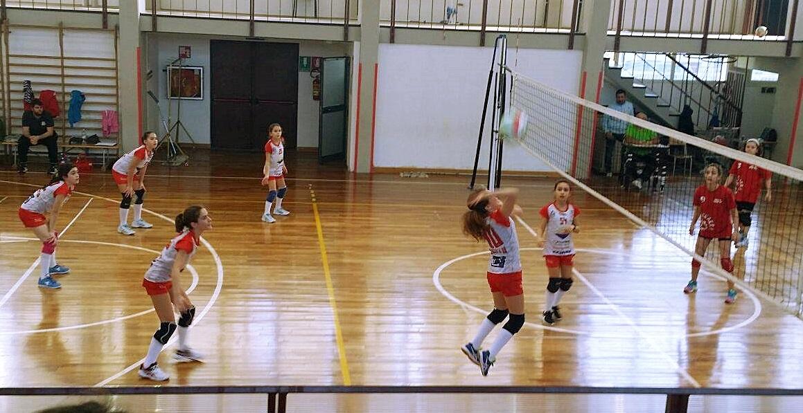 u12 in azione benedetto volley