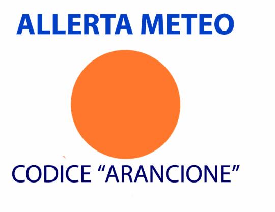 ALLERTA METEO: Da Rossa a Arancione